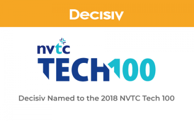 Decisiv Named to NVTC Tech 100 List