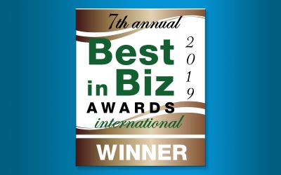 Decisiv Wins in Best in Biz Awards 2019 International