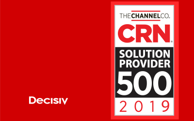 Decisiv Recognized on the CRN 2019 Solution Provider 500 List