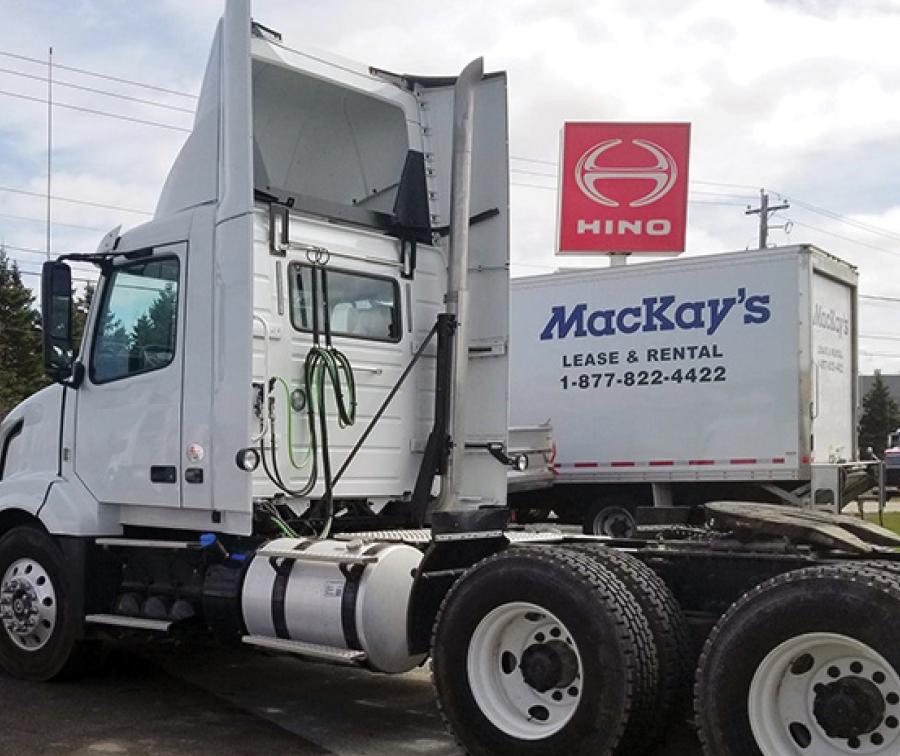 MacKays sign
