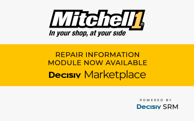 Mitchell 1 Repair Information Software Now Available on the Decisiv Marketplace