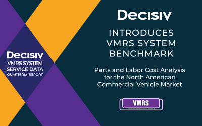 Decisiv and TMC Launch New Parts and Labor Cost Benchmark Reporting
