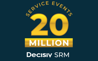 Decisiv SRM Platform Usage Tops 20 Million Service Events